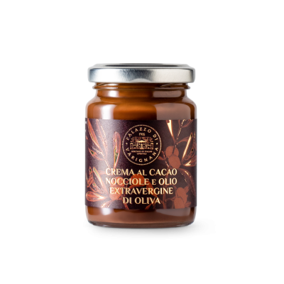Crema cacao spalmabile all'olio EVO